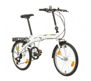 ΠΟΔ/ΤΟ PROBIKE FOLDING 20 6SP 310mm WHITE/GREEN
