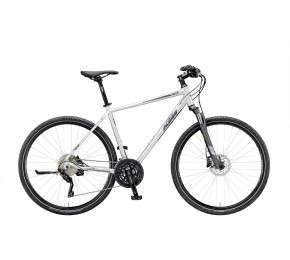 ΠΟΔ/ΤΟ KTM  LIFE CROSS 28 30 51HE STEEL GREY