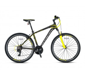 KRON TX 100 28 H DISC MATT GREY-YELLOW