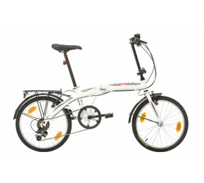 ΠΟΔ/ΤΟ PROBIKE FOLDING 20 6SP 310mm WHITE/RED