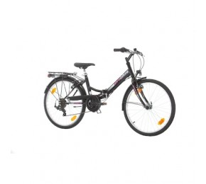 ΠΟΔ/ΤΟ PROBIKE FOLDING CITY 24 457mm BLACK GLOSS