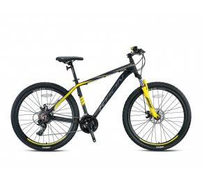 KRON XC 100 26 M DISC BLACK MATT-YELLOW/WHITE