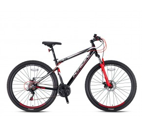 KRON XC 75 26 21SP M DISC BLACK-RED/WHITE
