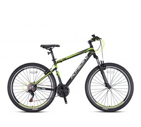 KRON XC 75 26 21SP M DISC MATT BLACK-YELLOW/WHITE